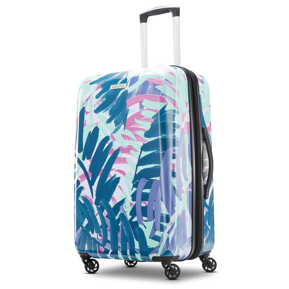 "American Tourister Moonlight 24"" Spinner in the color Palm Trees."