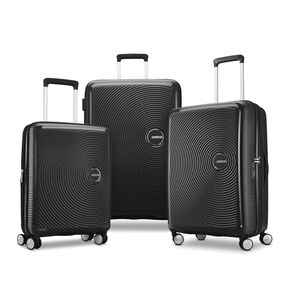 American Tourister Curio 3 Piece Set in the color Black.