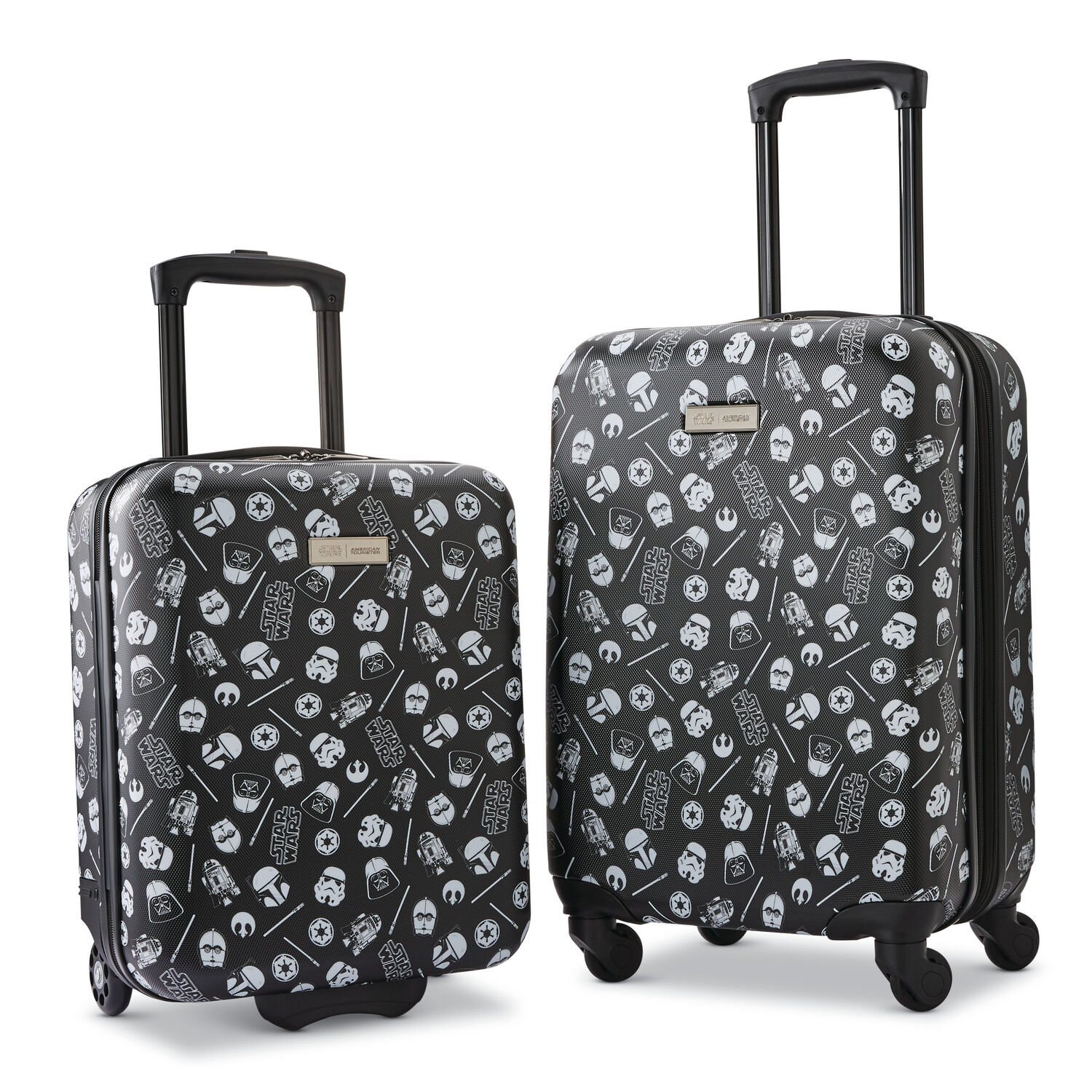 American Tourister Star Wars Roll Aboard 2 Piece Set (Underseater/Carry-On) in the color Star Wars Iconic.