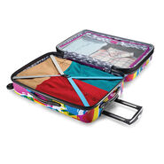 """American Tourister Moonlight 24"""" Spinner in the color Popsicle."""