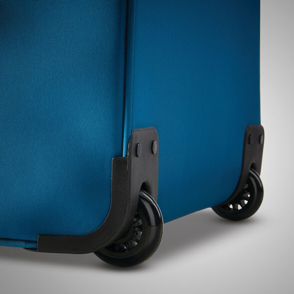 "American Tourister Blast XLT 21"" Upright in the color Aqua Blue."