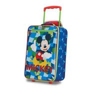 "American Tourister Disney Kids 18"" Softside Upright in the color Mickey."