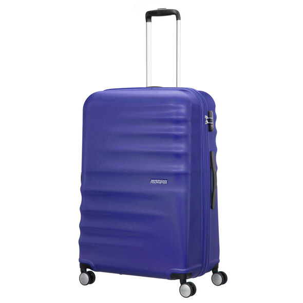 """American Tourister Wavebreaker 28"""" Spinner in the color Nautical Blue."""