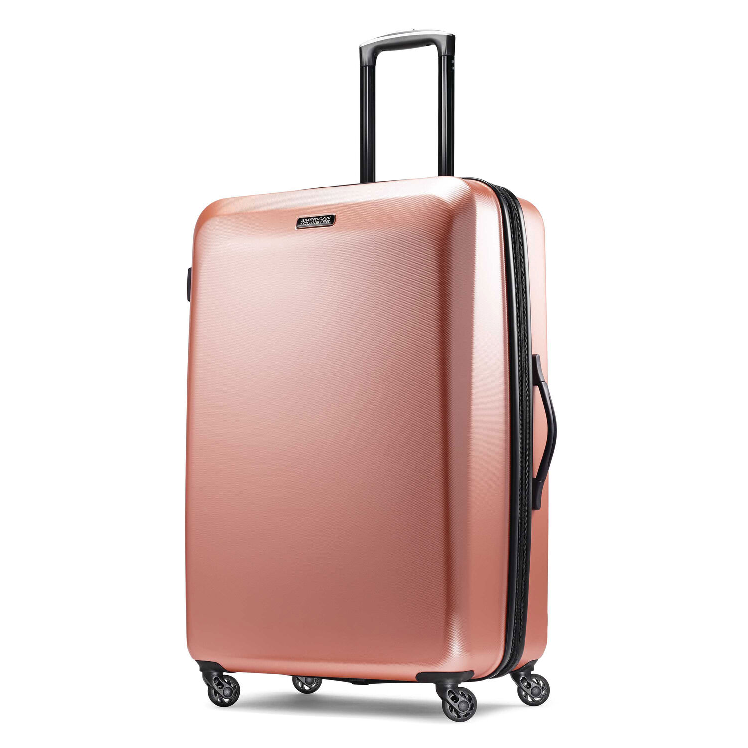 """American Tourister Moonlight 28"""" Spinner in the color Rose Gold."""