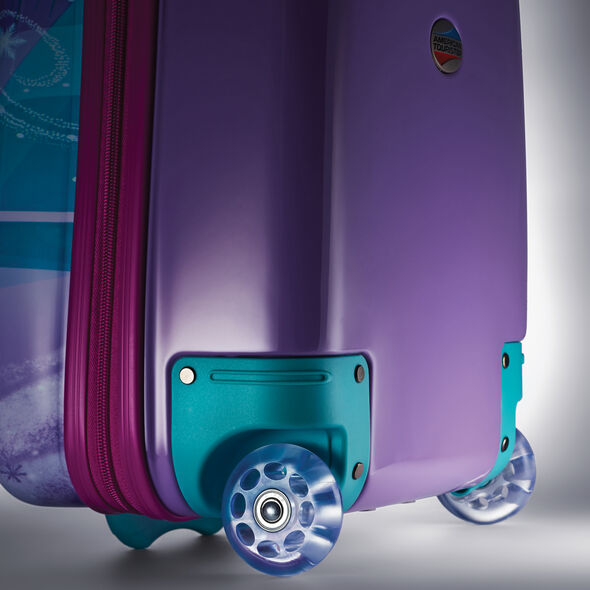 "American Tourister Disney 18"" Hardside Upright in the color Frozen."