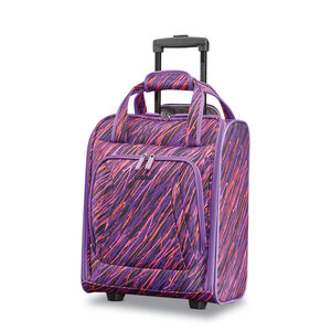 Rolling Tote in the color Purple Print.