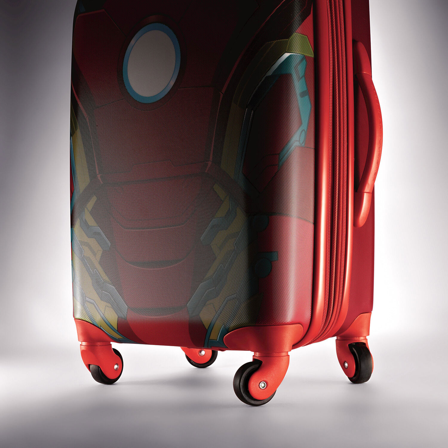 """b60abaad88d2aa American Tourister Marvel 20"""" Spinner in the color Iron Man."""