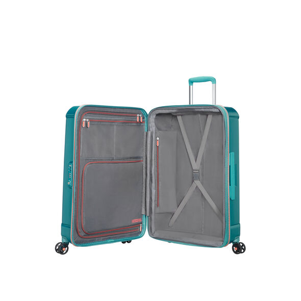 "American Tourister Technum 28"" Spinner in the color Jade Green."