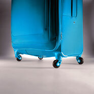"""American Tourister iLite Max 25"""" Spinner in the color Light Blue."""