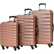 American Tourister Triumph NX 3 Piece Set in the color Rose Gold.