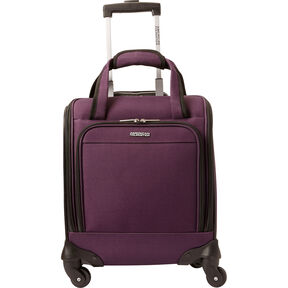 American Tourister Lynnwood Spinner Underseater in the color Eggplant.