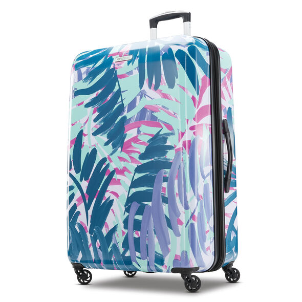 "American Tourister Moonlight 28"" Spinner in the color Palm Trees."