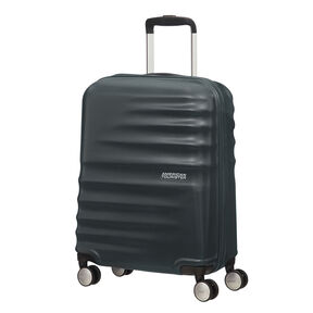"American Tourister Wavebreaker 20"" Spinner in the color Nightshade."