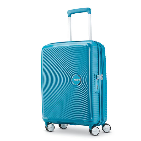 American Tourister Curio 3 Piece Set in the color Summer Blue.