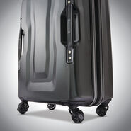 "American Tourister Cargo X 20"" Spinner in the color Black."