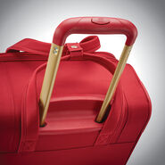 "American Tourister Belle Voyage 21"" Spinner in the color Red."