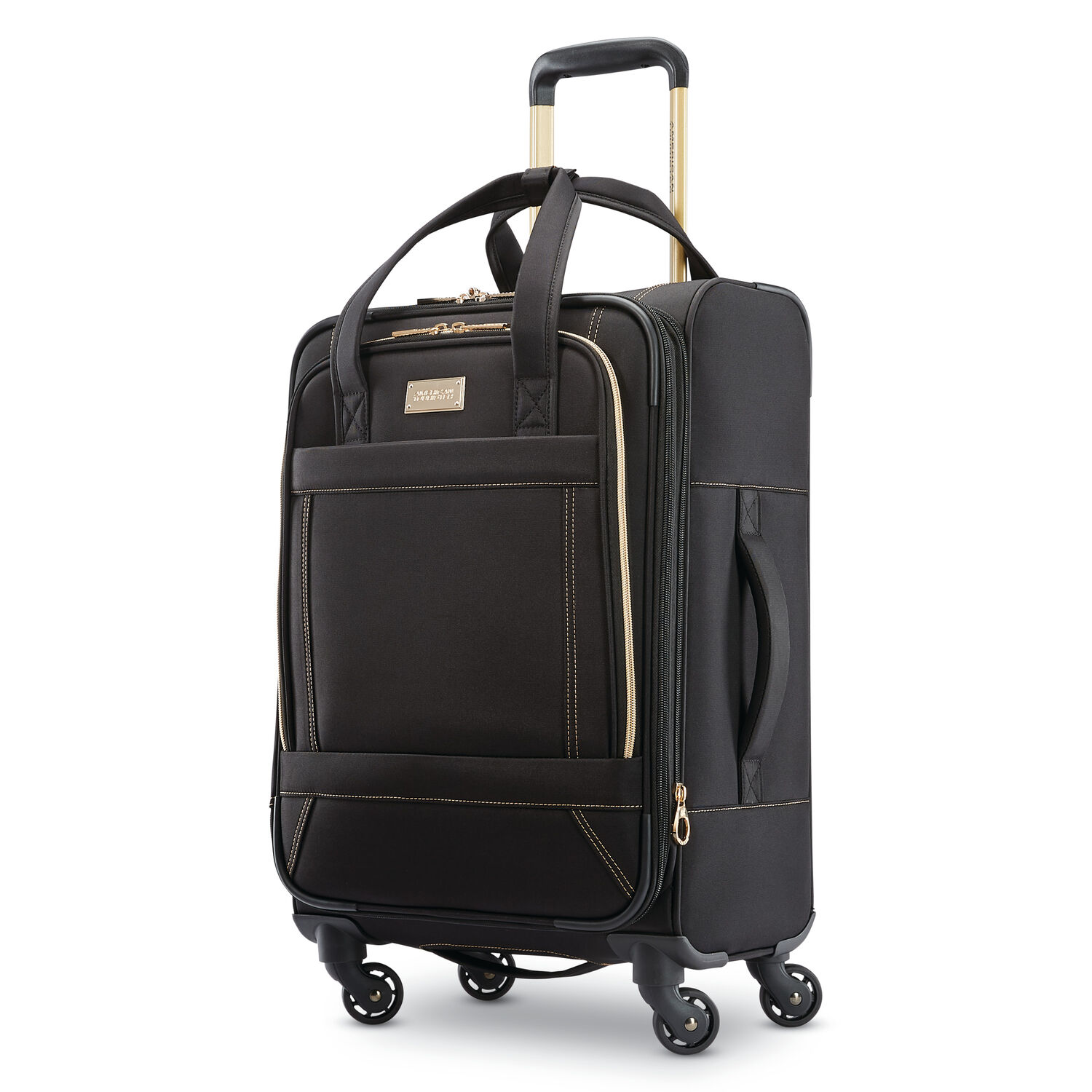 """American Tourister Belle Voyage 21"""" Spinner in the color Black."""