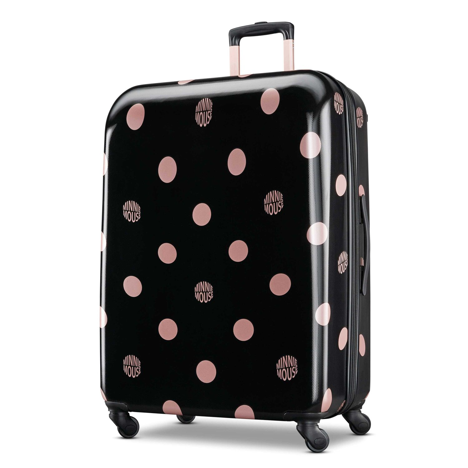 cedffb77d0d0 American Tourister Minnie Mouse Lux Dots Hardside Spinner