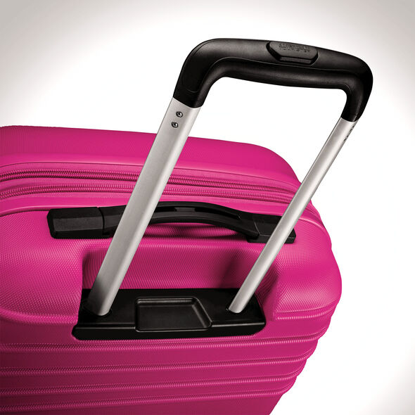 "American Tourister Sunset Cruise 28"" Spinner in the color Pink Berry."