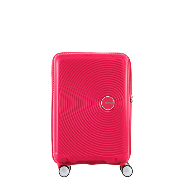 "American Tourister Curio 29"" Spinner in the color Pink."