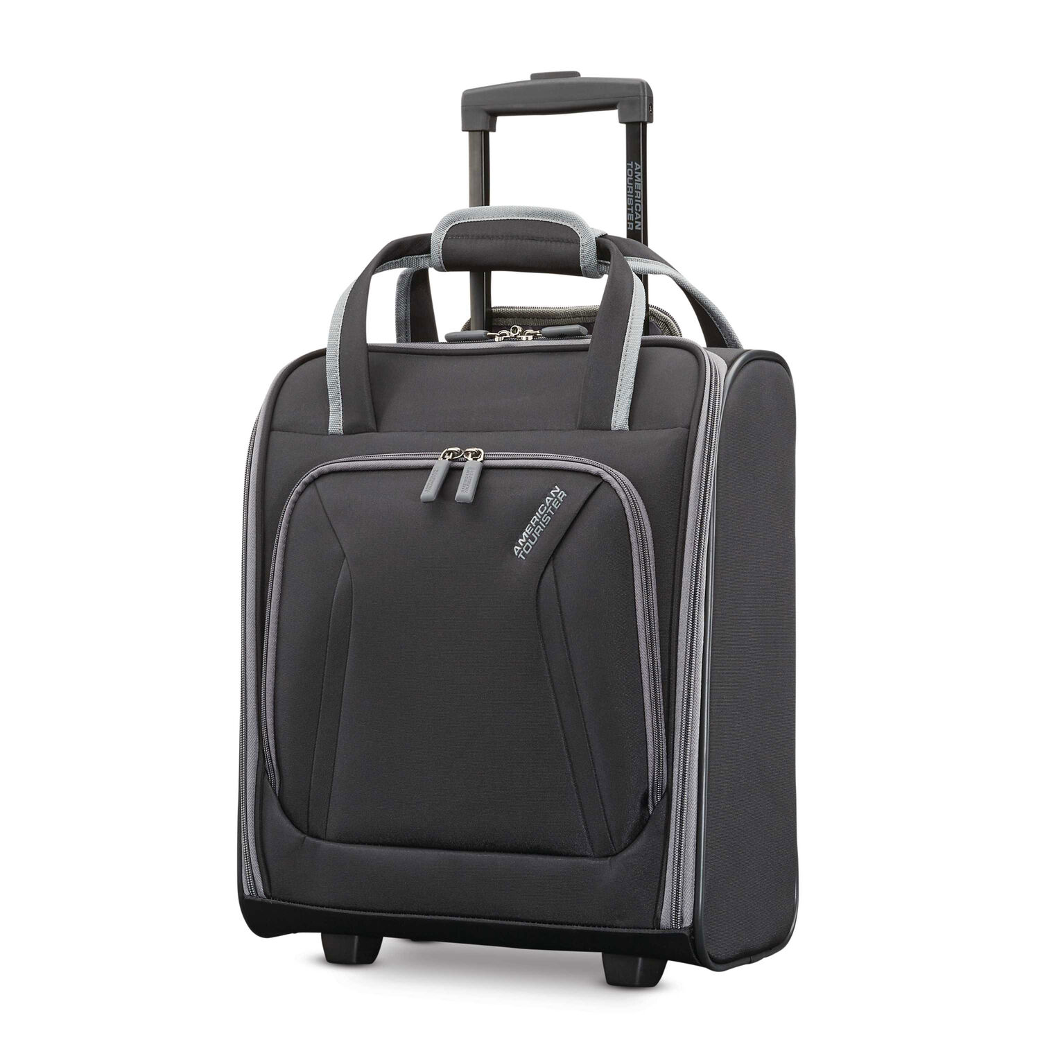 2bd334aa03 American Tourister Sonic Rolling Tote in the color Black.