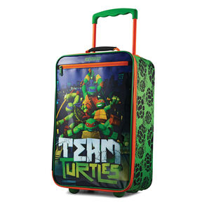 "American Tourister Nickelodeon 18"" Softside Upright in the color Ninja Turtles."