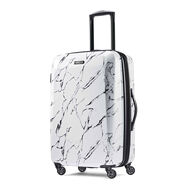 "American Tourister Moonlight 24"" Spinner in the color Marble."