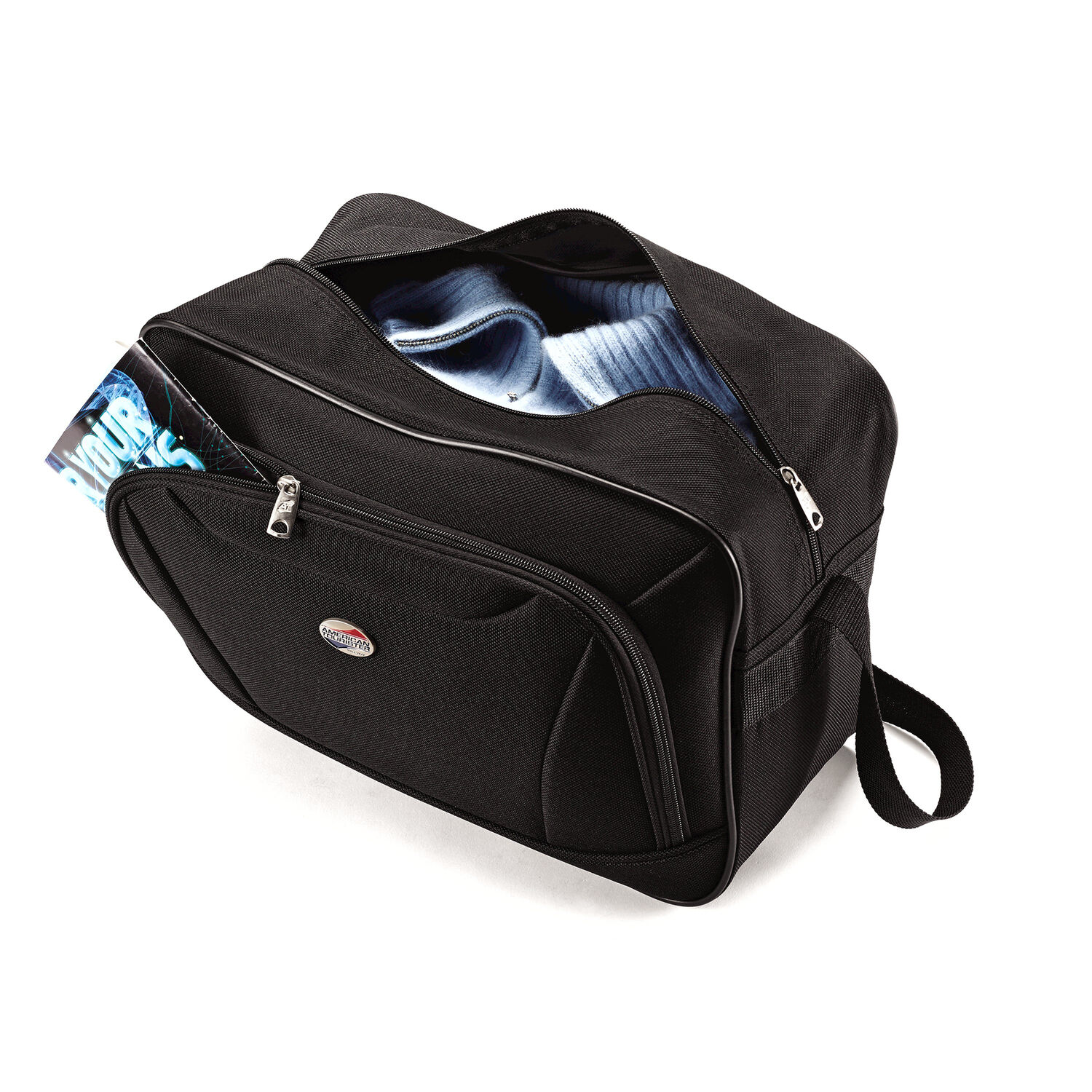 c035aaae6 American Tourister Fieldbrook II 2 Piece Set in the color Black.