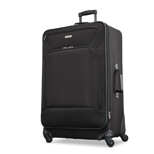 American Tourister Fieldbrook XLT 5 Piece Set in the color Black.
