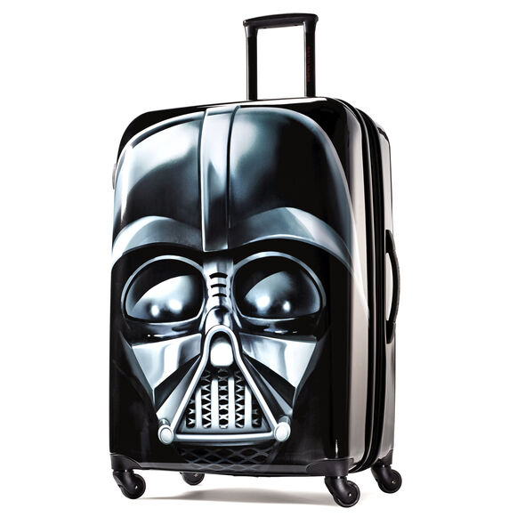 """American Tourister Star Wars 28"""" Spinner in the color Darth Vader."""