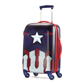 "American Tourister Marvel All Ages 20"" Spinner in the color Captain America."