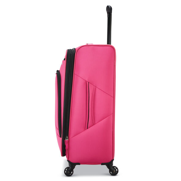 """American Tourister 4 Kix 25"""" Spinner in the color Pink."""
