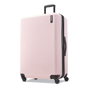 "American Tourister Stratum XLT 28"" Spinner in the color Petal Pink."