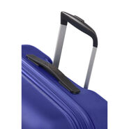 "American Tourister Wavebreaker 20"" Spinner in the color Nautical Blue."