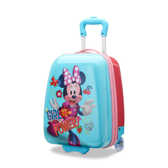 "American Tourister Disney Kids 16"" Hardside Upright in the color Minnie."