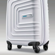"""American Tourister Sunset Cruise 24"""" Spinner in the color Cloud White."""