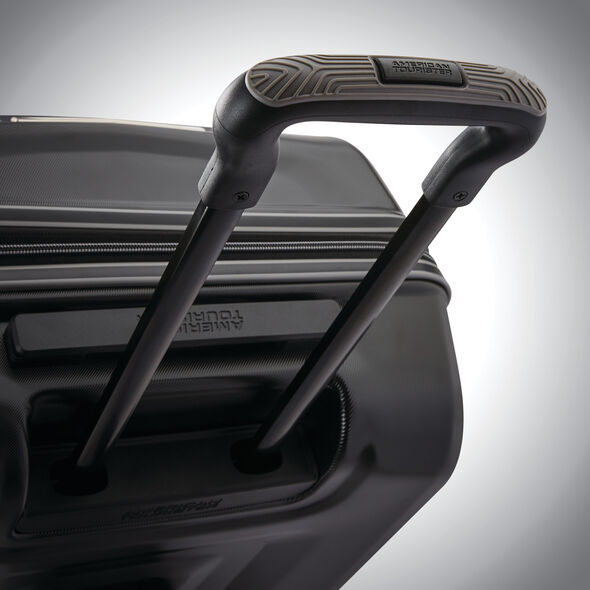 "American Tourister Cargo X 24"" Spinner in the color Black."