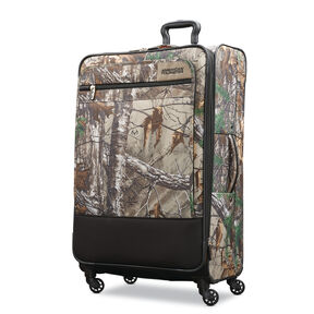 "American Tourister Realtree 29"" Spinner in the color Camouflage Green."