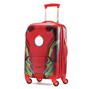 """American Tourister Marvel 20"""" Spinner in the color Iron Man."""