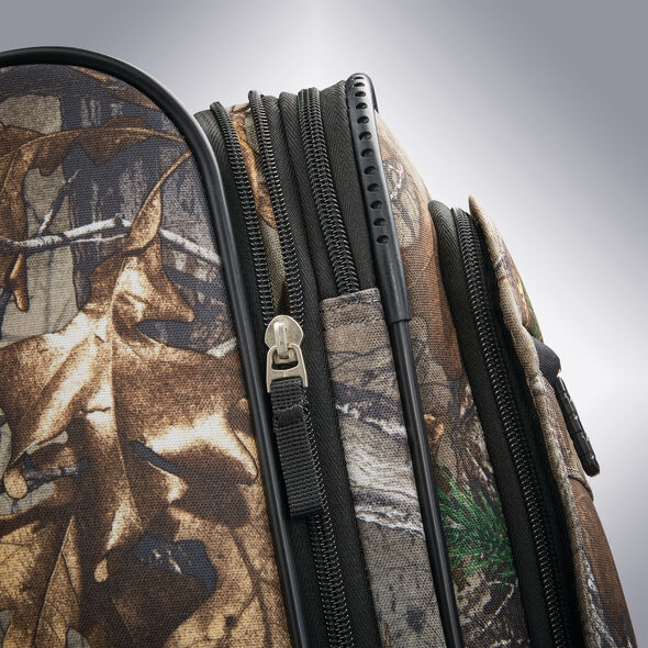 """American Tourister Realtree 29"""" Spinner in the color Camouflage Green."""