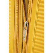 """American Tourister Curio 29"""" Spinner in the color Golden Yellow."""