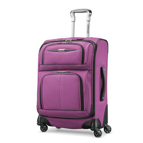 "American Tourister Meridian NXT 21"" Spinner in the color Purple."