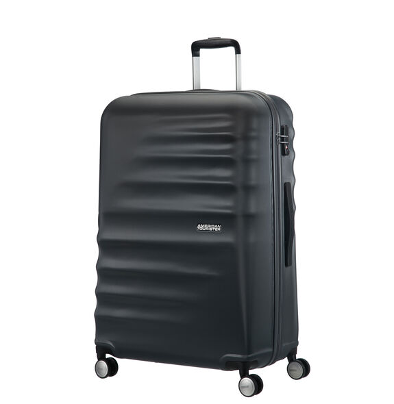 "American Tourister Wavebreaker 28"" Spinner in the color Nightshade."