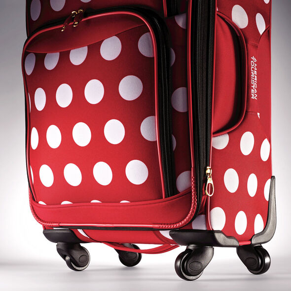 "American Tourister Disney Minnie Mouse 28"" Spinner in the color Minnie Mouse Polka Dot."
