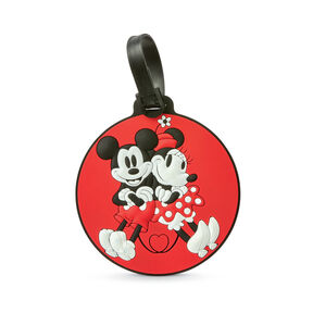 American Tourister Disney ID Tag Mickey & Minnie in the color Mickey/Minnie Kiss.