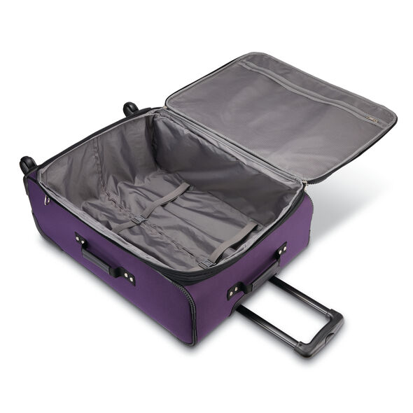 American Tourister Pop Max 3PC Set in the color Purple.