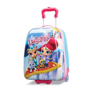 "American Tourister Nickelodeon Kids Shimmer & Shine 18"" Hardside Upright in the color Shimmer & Shine."