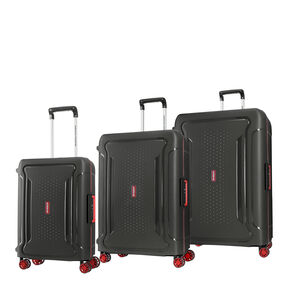 American Tourister Tribus 3 Piece Set in the color Black.