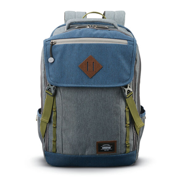 American Tourister Dig Dug Backpack in the color Grey/Navy.