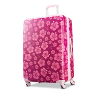 "American Tourister Life Is Good 28"" Spinner in the color Hibiscus."